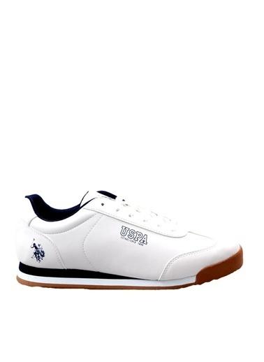 U.S. Polo Assn. Deep Beyaz Günlük Erkek Spor Ayakkabı Beyaz